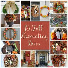 Fall wreath ideas for any door