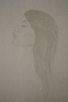 ⚪natta.lk @ instagram⚪ Teckning Flicka Tjej Blyerts Drawing Girl Graphite Blacklead Art Artwork