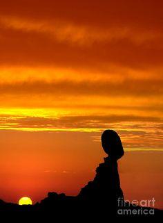 ✯ Balanced Rock Sunset