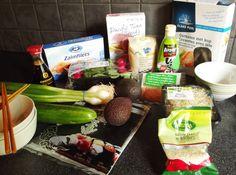 Sushi bowls shopping list ingredients