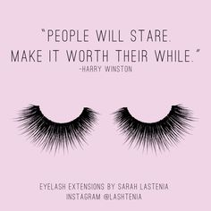 """People will stare... make it worth their while."" - Harry Winston"