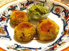 Paleo: Falafel balls (zucchini and cauliflower)