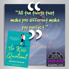 Book Review – The Kiss Quotient by Helen Hoang | Ana's Attic Book Blog
