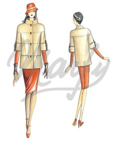 Marfy: Sewing pattern 3196 - Jacket
