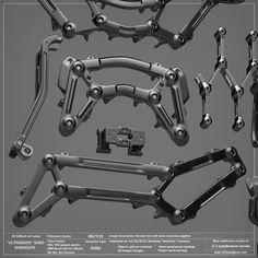 Robot Costumes, Hard Surface Modeling, Robots Characters, Extreme Close Up, Mechanical Design, Mechanical Engineering, Robot Concept Art, 3d Tutorial, Robot Design