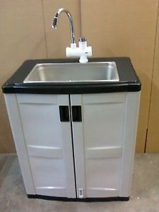 Portable Sinks With Hot And Cold Water New Large Bowl Sink