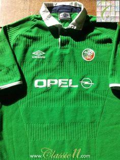 2001 Republic of Ireland Home Football Shirt (M) b2890abd9