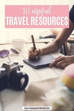 The best resources to plan a trip | My Passport Abroad | This list covers the most useful: flights, hotels, tours and more. #TravelResources #TripPlanning #Checklist | Travel Resources | Travel Resources Ideas | Travel Planning Resources | Trip Planning Resources | Travel Essentials | Trip Planning Checklist | Trip Planning Vacation Planner Paris Travel Tips, Travel Info, Travel Hacks, Travel Advice, Travel Essentials, Budget Travel, Travel Ideas, Travel Inspiration, Magical Vacations Travel