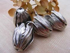 Gorgeous Silver Plated Bead Caps  http://tophatter.com/auctions/11148?campaign=all=internal