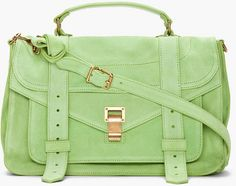 Love this: Jade Suede Foldover Ps1 Messenger Bag @Lyst