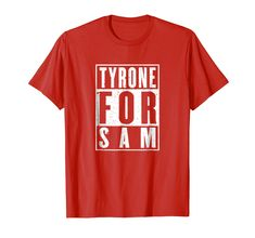 Amazon.com: Tyrone For Sam GAA Football T-Shirt: Clothing Branded T Shirts, Fashion Brands, Football, Amazon, Clothing, Stuff To Buy, Shopping, Tops, Soccer
