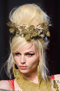 Andrej Pejic | Jean Paul Gaultier | Spring 2012 Couture