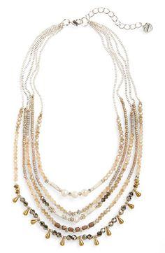 Nakamol Design Layered Statement Necklace