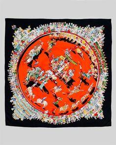 Hermes scarf by kaitlin