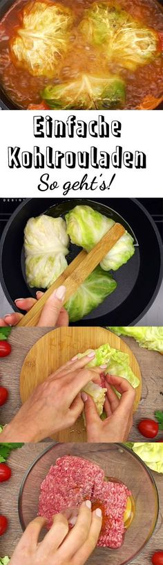 Dieses Rezept für einfache Kohlrouladen gelingt selbst Koch-Anfängern. Probiere dich an der echten Hausmannskost und koche den Klassiker nach.