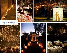 Night Weddings