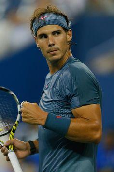 Rafael Nadal Photos: US Open: Day 4