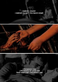 the maze runner - thomas and chuck