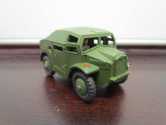 "Vintage Dinky Toys #688 Military Field Artillery Tractor 3"" Long 1957-1961"