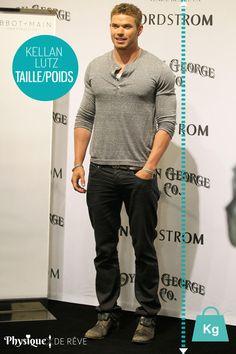 Kelan Lutz taille et poids morphologie muscles Fiche physique de rêve Kellan Lutz, Famous Men, Hollywood Celebrities, Black Love, Cute Guys, Beautiful Men, Sexy Men, Men Dress, Muscles
