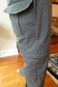 zip-off pants DIY