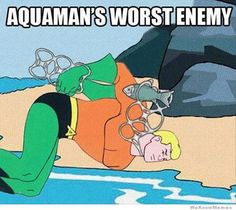 Support #Aquaman, Recycle!