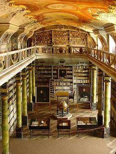 Broumov Monastery Library (Broumov, Czech Republic)