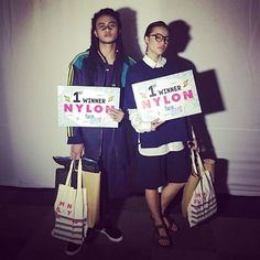 We give you the NYLON FACE OFF 2017 WINNERS @mas.tjohn and @nadia_tjiantoro  Get ready to see these faces everywhere!! Congratulations guys!!!  via NYLON INDONESIA MAGAZINE OFFICIAL INSTAGRAM - Celebrity  Fashion  Haute Couture  Advertising  Culture  Beauty  Editorial Photography  Magazine Covers  Supermodels  Runway Models
