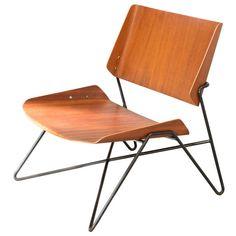 Chair SRA1 by Janine Abraham & Dirk Jan Rol - Sièges Témoins edition - 1959/1960 | 1stdibs