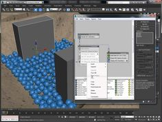 PFlow 3ds Max 2014 - Water
