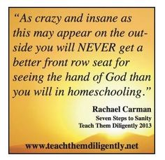 FREE Homeschool Audio: Seven Steps to Sanity by Rachael Carman #homeschool #freehomeschool