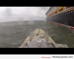 Harbor master boards Disney Fantasy in 40 knot winds during Hurricane Sandy (Video) - Mickeyopolis (Sorry, the video won't link in here.  Watch it at the website.  Amazing!!)