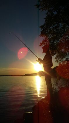 The perfect way to spend an evening! #Fishing #Minnesota