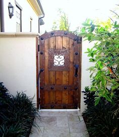 1000 Images About Wood Fence Side Gate Ideas On