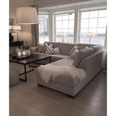 Living room neutral ❤ liked on Polyvore featuring home, home decor and neutral home decor
