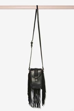 Out of Range Suede Fringe Crossbody Bag - Bags + Backpacks