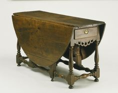 Gateleg Table Artist/maker unknown, American First quarter of 18th century