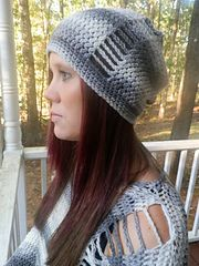 Ravelry: La Maille Slouch Hat pattern by Two Brothers Blankets