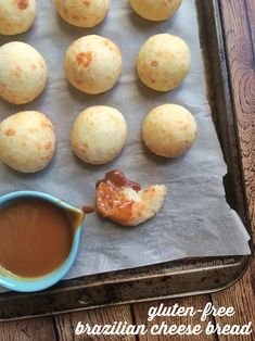 Gluten-free recipe: Brazilian cheese rolls (pão de queijo) made with Mexican cotija cheese