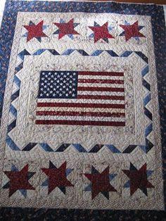 Liberty Ridge, a Henry Glass free pattern