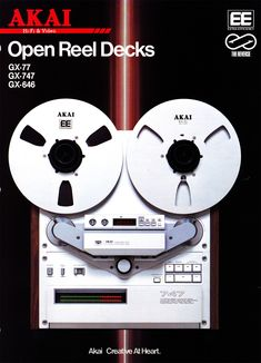 Reel to Reel Tape Recorder Manufacturers - Akai - Museum of Magnetic Sound Recording