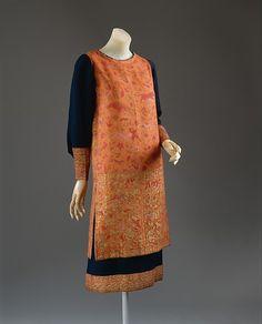 Callot Soeurs | Dress | French | The MetDress Design House: Callot Soeurs (French, active 1895–1937) Date: ca. 1924 Culture: French Medium: wool, silk, metallic thread