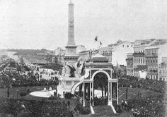 Monumento aos Restauradores (1886) My Heritage, Back In The Day, Homeland, Lisbon, Old Photos, Paris Skyline, 1, The Incredibles, Nostalgia