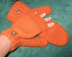 100 wool convertible mittens by mlyrec2010 on Etsy, $30.00