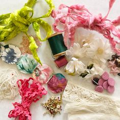 Excited to share this item from my #etsy shop: Pink And Green Inspiration Vintage Chenille Wire, Sewing Notions, Rick-Rack, Beads, Baubles, Buttons, Millinery Supplies #2148 Millinery Supplies, Rick Rack, Sewing Notions, Czech Glass Beads, Pink And Green, Things To Come, Wire, Buttons, Etsy Shop