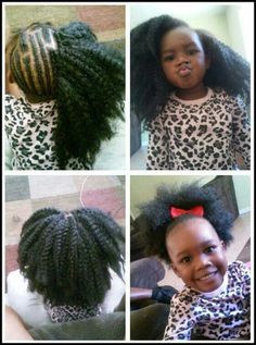 23 Trendy Crochet Braids Hairstyles For Kids Watches Crochet Braids Hairstyles For Kids, Crochet Braids For Kids, Lil Girl Hairstyles, Natural Hairstyles For Kids, Kids Braided Hairstyles, Crochet Hair Styles, Natural Hair Styles, Hat Crochet, Blanket Crochet