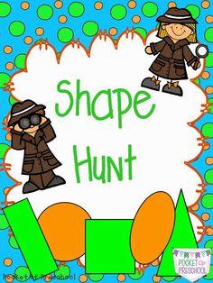 Shapes Part 2: More Shape FUN! - Pocket of Preschool