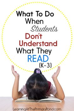 Do some of your students have poor reading comprehension skills? In this post, I share tips for helping these students improve their comprehension skills! Improve Reading Skills, Improve Reading Comprehension, Comprehension Activities, Reading Lessons, Reading Resources, Reading Strategies, Kids Reading, Teaching Reading, Guided Reading