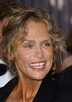 Lauren Hutton, she wouldn't fix the gap between her teeth and was a successful model on her own terms. via Cindy Woolsey .