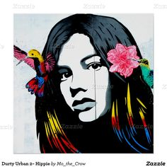 Durty Urban 2~ Hippie Poster